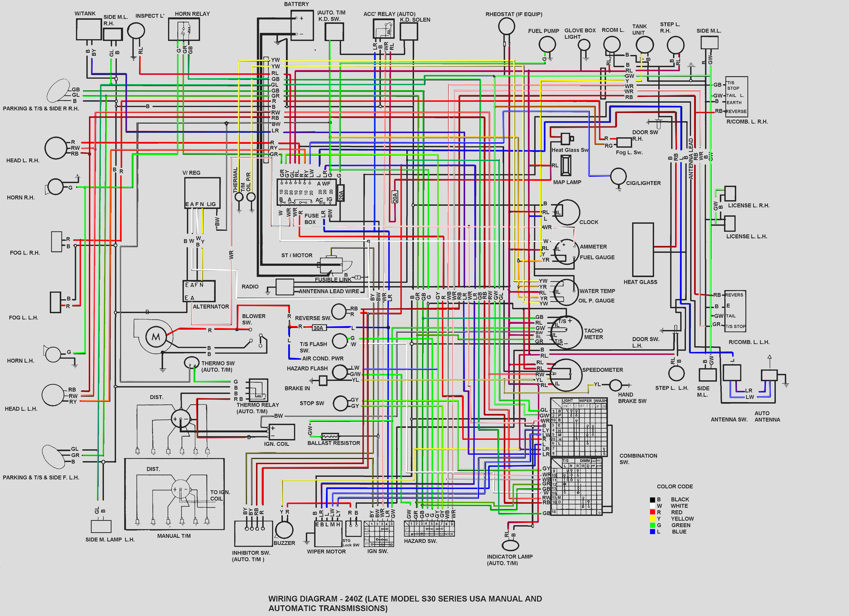 240z Wiring Diagram Blog Wiring Diagram